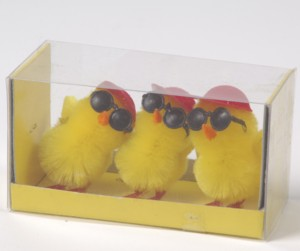 chenille chicks wearing sunglasses