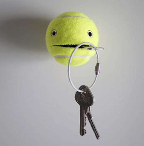 mr. wilson tennis ball hanger