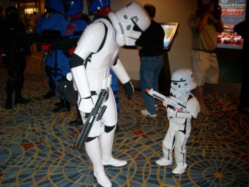 father and son stormtrooper costumes
