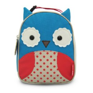 skip hop owl lunch bag