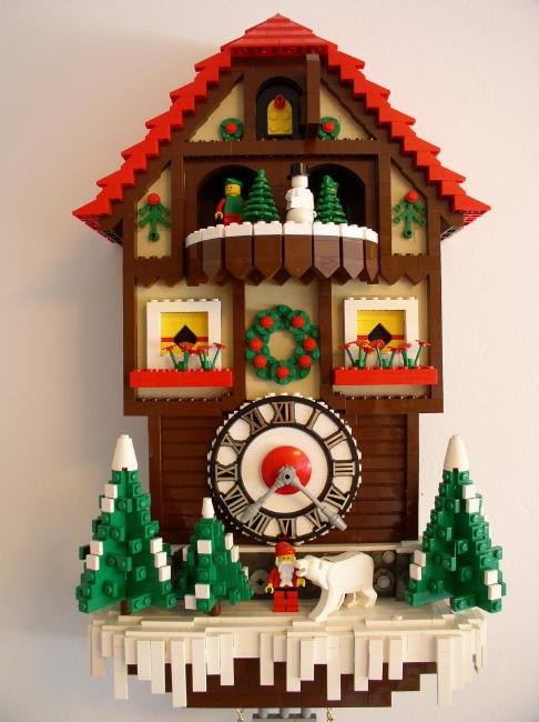 lego cuckoo clock