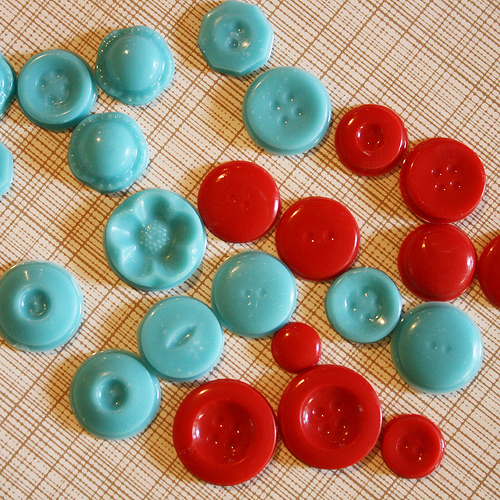 sewing button chocolate mold