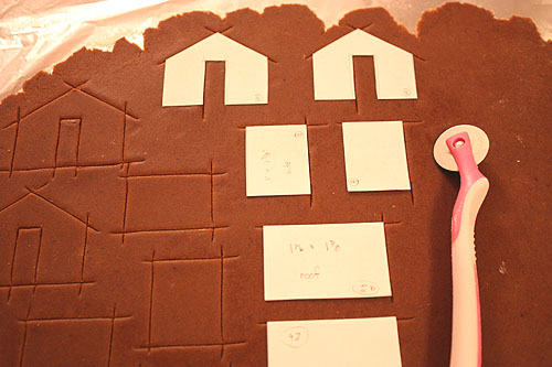 gingerbread house instructions
