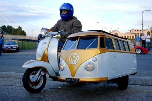 vw bus sidecar