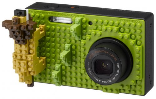 lego pentax camera