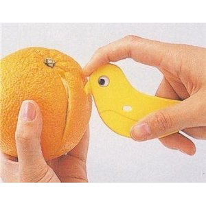 japanese bird orange peeler