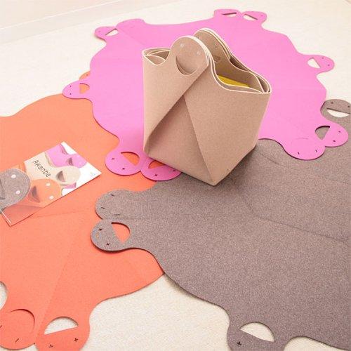 felt bag playmat