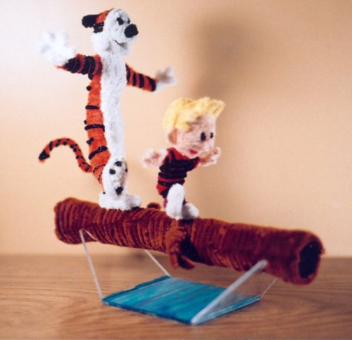 calvin hobbes pipe cleaners