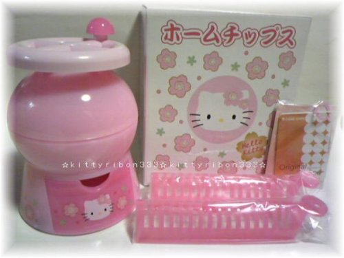 hello kitty potato chip maker