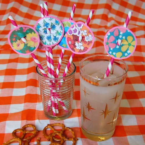 DIY party straws