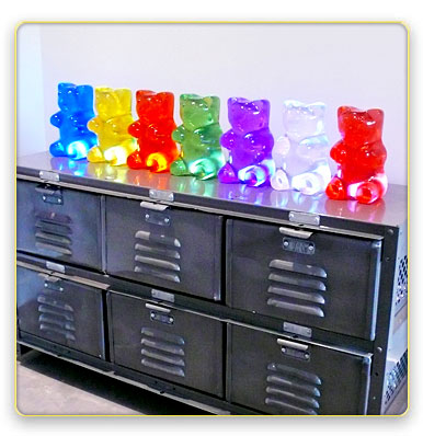 gummi bear lamp