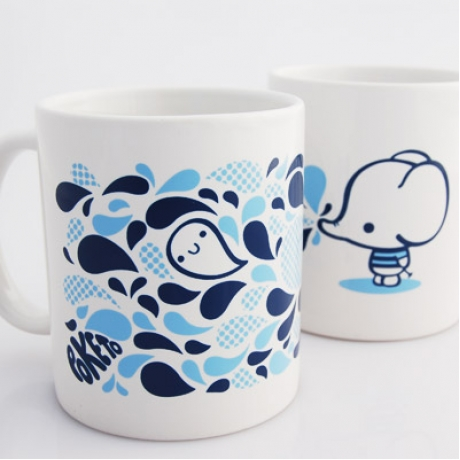 elephant mug by poketo