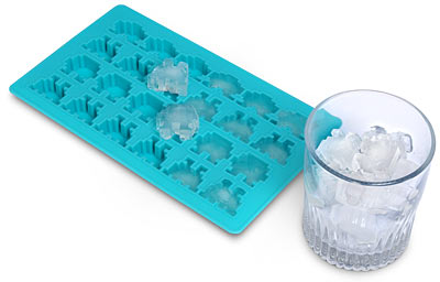 space invaders ice cubes