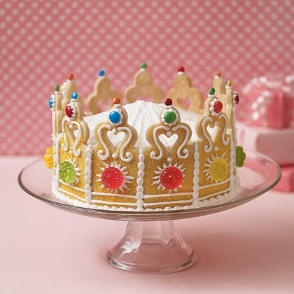 cookie crown cake king queen