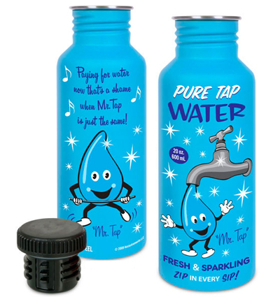 mr. tap water bottle
