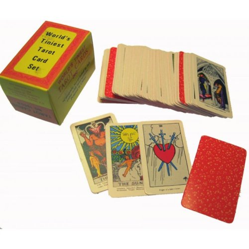miniature tarot cards