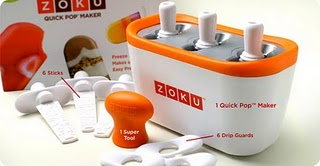 popsicle maker by zoku