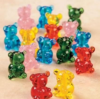 gummi bear beads