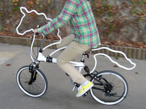 horse-shaped bicycle