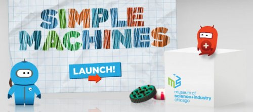 simple machines physics game