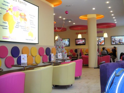 dunkin donuts moscow