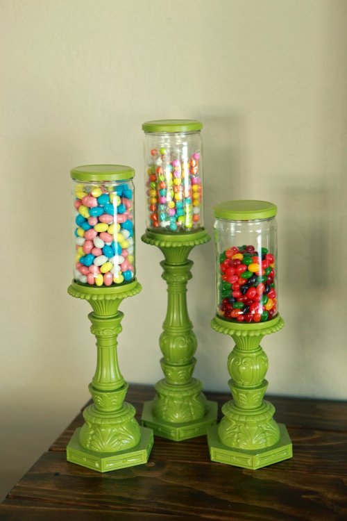 apothecary candy jars