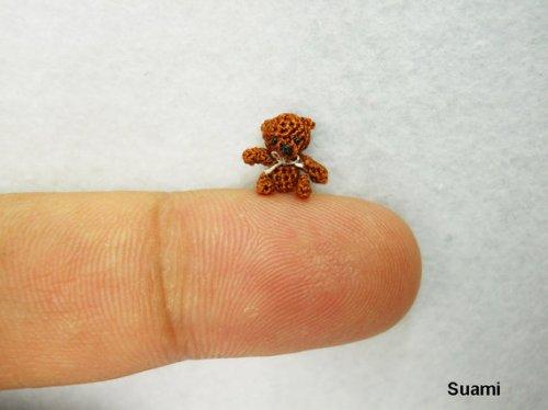miniature dollhouse teddy bear