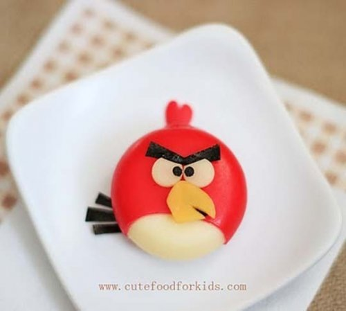 babybel cheese angry birds