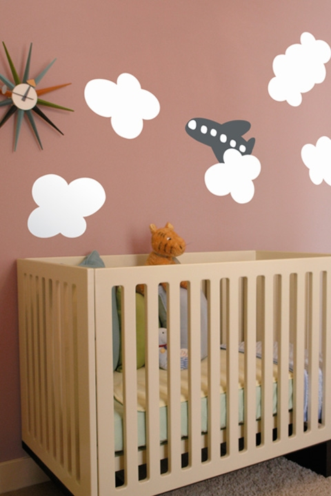 airplane wall decal