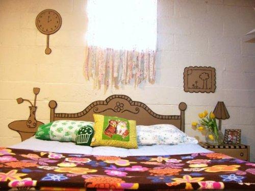 cardboard bedroom furniture