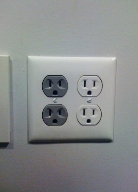 angry electrical outlets