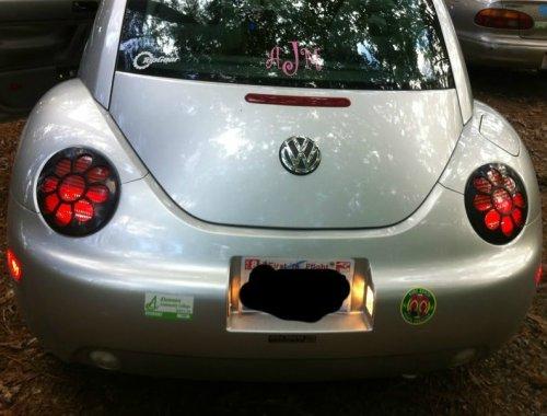 VW Bug Daisy Tail Light Covers