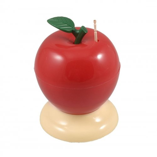 apple toothpick holder dispenser
