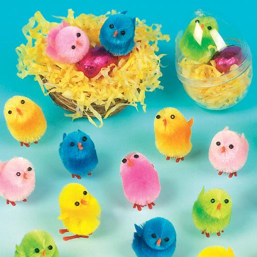 chenille chicks