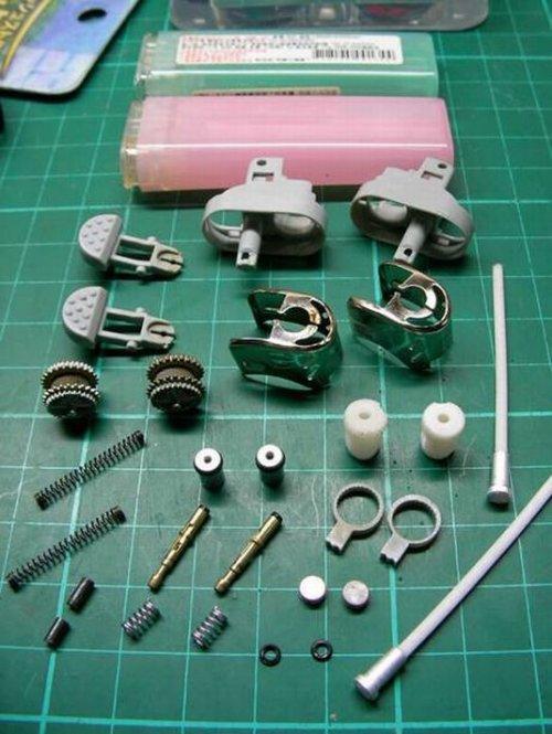 lighters taken apart