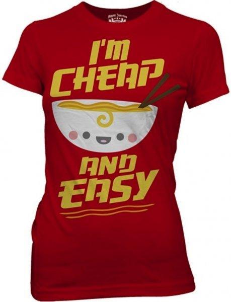 ramen tshirt cheap and easy kawaii not