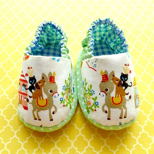 little odd forest handmade baby booties