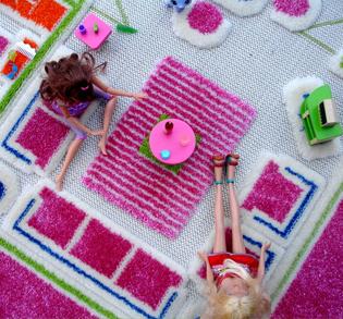 dollhouse area rug