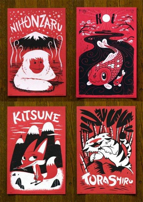 japanimal posters