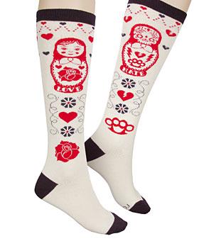 russian nesting doll socks