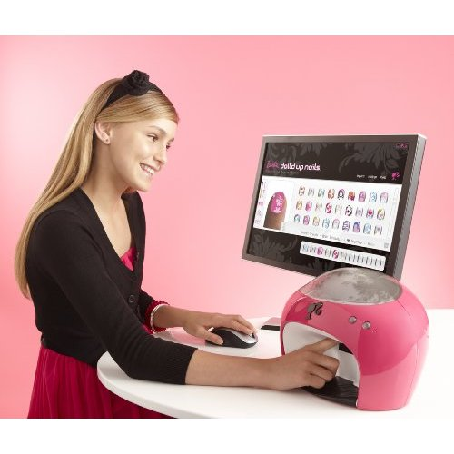 barbie fingernail printer