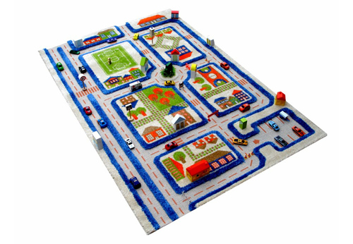 interactive kids activity rug