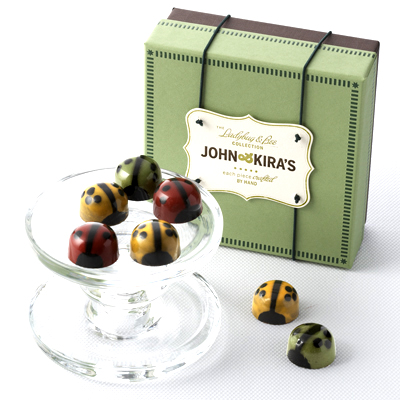 chocolate ladybugs