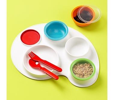 Baby Skip Hop Palette Plate & Bowl